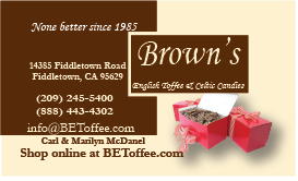 Browns English Toffee